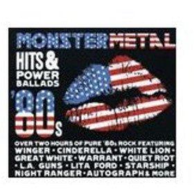 輸入盤 VARIOUS / MONSTER METAL HITS & POWER BALLADS [2CD]