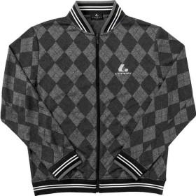 ルーセント LUCENT テニスウェア ユニセックス サマーウォームアップシャツ ブラック XLW4739 2018SS