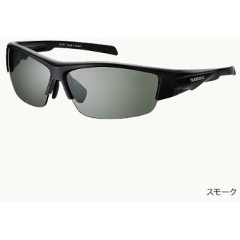 ≪新商品!≫ シマノ 撥水ハーフフィッシンググラス PC HG-066N マットブラック/ブラウン フリーサイズ