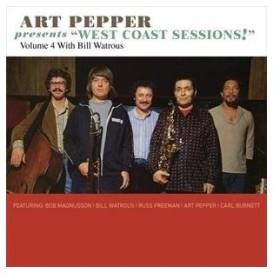 "輸入盤 ART PEPPER / ""ART PEPPER PRESENTS """"WEST COAST SESSIONS"""" VOLUME 4: BILL WATROUS"" [CD]"