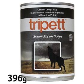 ドッグフード 缶詰 イヌ 犬 エサ 餌 栄養補助食 ペットカインド トライペット 缶詰 グリーンバイソントライプ 396g