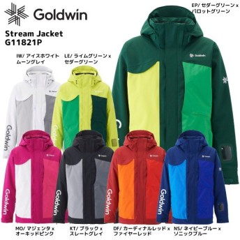 18-19 GOLDWIN(ゴールドウィン)【最終在庫処分】Stream Jacket(ストリーム ジャケット)G11821P【スキージャケット】