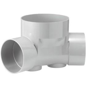 下水道関連製品>ビニマス>M 200-300シリーズ 45度曲り(45L) M-45L左200-300 Mコード:41915 前澤化成工業
