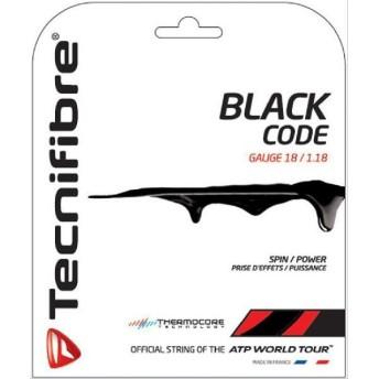 Tecnifibre テクニファイバー 「BLACK CODE ブラックコード TFG503」硬式テニスストリング ガット [ポスト投函便対応]