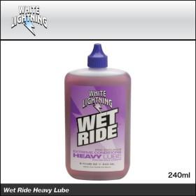 (ケミカル用品)WHITE LIGHTNING ホワイトライトニング Wet Ride Heavy Lube ウェットライドヘビールブ 240ml(TOS08801)