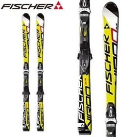 フィッシャー バイロン FISCHER VIRON 2.2 + RS10 POWERRAIL メンズ レディース スキー セット ビンディング付 2点セット