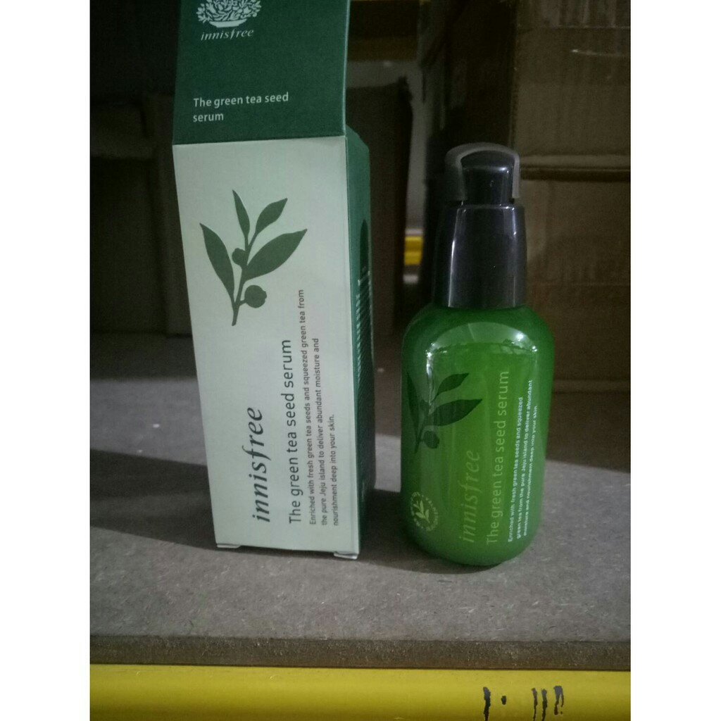 Goshop Shop Line Innisfree The Green Tea Seed Serum 80ml Buy 1 Get 80 Ml
