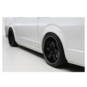ボクシースタイル ハイエース 200系 1型 2型 3型 4型 標準/ワイド共通 プレミアムオーバーフェンダー boxystyle