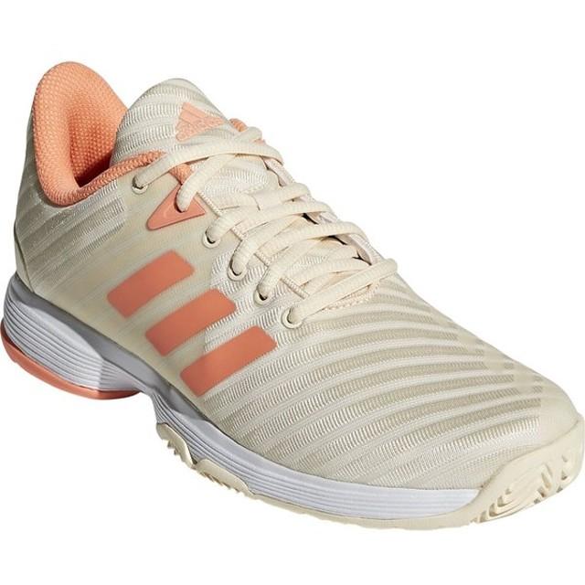 アディダス adidas テニスシューズ  BARRICADE CODE COURT AC W バリケードコードコート オールコート用テニスシューズ DB1745