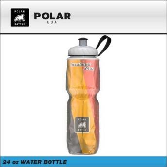 (POLAR)ポーラー ボトル 保冷ボトル大 24OZ 710ml Limited Color 限定カラー ベルギーフラッグ(4580306098544)