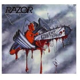 輸入盤 RAZOR / VIOLENT RESTITUTION [CD]