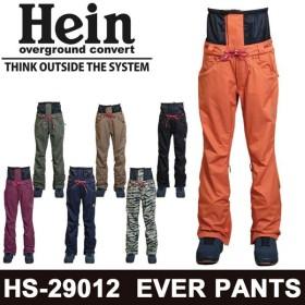 18-19 Hein スノーボードウェア EVER PANTS -SLIM SILHOUETTE- [HS-29012] ヘイン パンツ ユニセックス スノーウエア