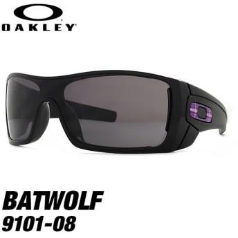 【訳あり】 オークリー アウトレット サングラス OAKLEY BATWOLF 9101-08 127