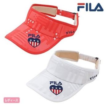 フィラ FILA GOLF レディース サンバイザー 758900 2018春夏