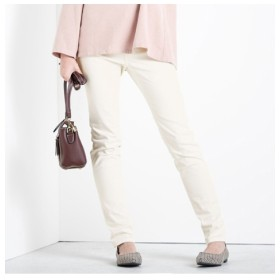 【秋の新色登場♪】すごく伸びる綿混スキニーパンツ(選べる3レングス) (レディースパンツ)Pants, 子, 子