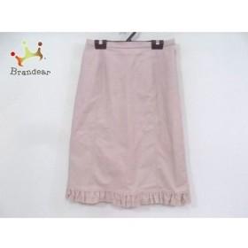 ギャラリービスコンティ GALLERYVISCONTI スカート サイズ2 M レディース 美品 ピンク フリル                   スペシャル特価 20190813