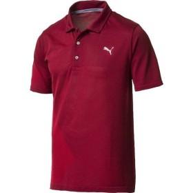 プーマ シャツ トップス メンズ PUMA Men's Evoknit Dassler Golf Polo Pomegranate