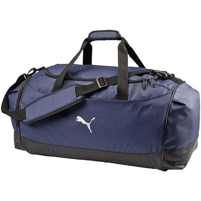 (セール)PUMA(プーマ)スポーツアクセサリー ボストンバッグ トレーニング J ダッフルバッグ L Z 073297-02 - 02PEACOAT-BL