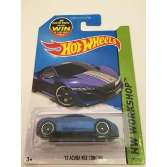 ホットウィールHot Wheels 2015 HW Workshop '12 Acura NSX Concept 191/250, Metallic Blue