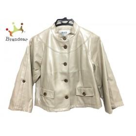 ジユウク 自由区/jiyuku ジャケット サイズ38 M レディース 美品 ベージュ 冬物               スペシャル特価 20190523