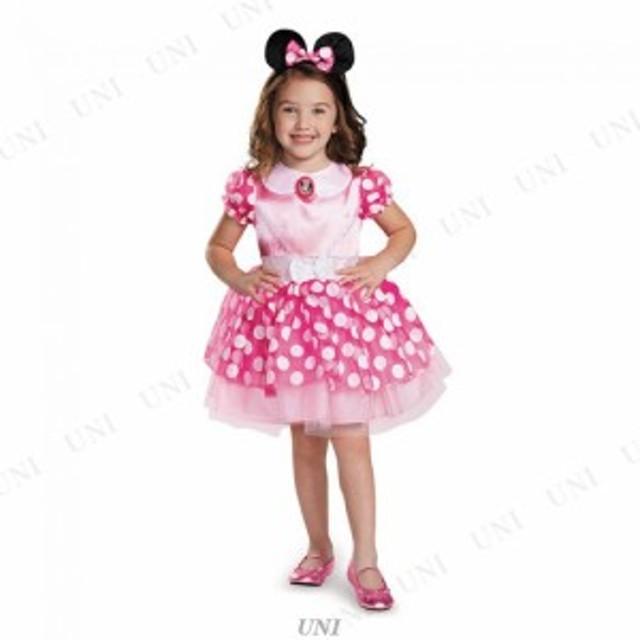 22dfc4d901bb1 ピンクミニーマウス クラシック チュチュ 子供用 L(4-6x) コスプレ 衣装 ハロウィン