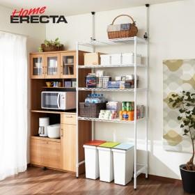 本棚 ラック 壁面収納 追加用棚板 奥行45cm ブラウン