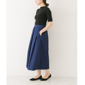 URBAN RESEARCH / アーバンリサーチ ポケット付きタックフレアースカート