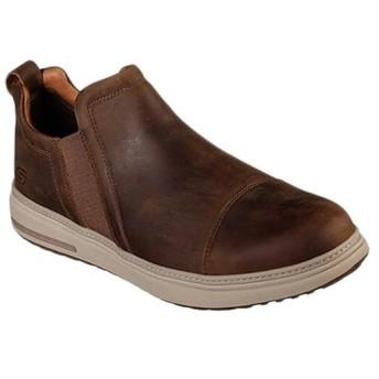 スケッチャーズ(SKECHERS) メンズ カジュアルシューズ FOLTEN- OREGO ダークブラウン 65789 CDB コンフォートシューズ 靴 スポーツ