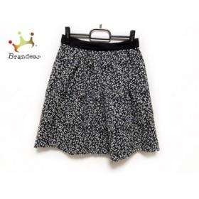ビームス BEAMS スカート サイズ38 M レディース 黒×白             スペシャル特価 20190803
