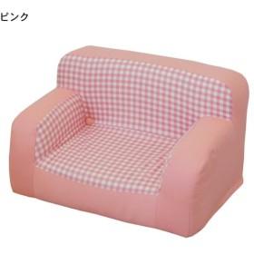 学習机チェア キッズチェア 子供用ソファー カラー ピンク