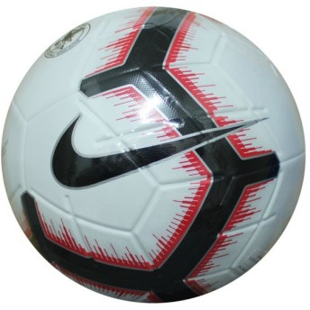 マジア ホワイト×ブライトクリムゾン 【NIKE|ナイキ】サッカーボール5号球sc3321-100-5
