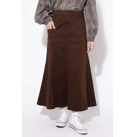 ROSE BUD / ローズ バッド フレアロングスカート