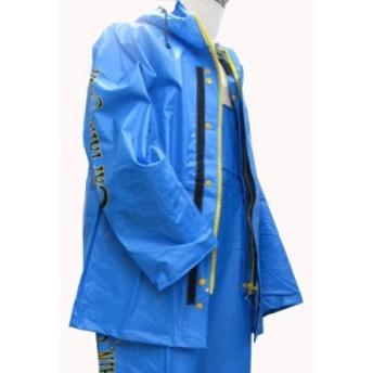キャプテンスター レインウェア 上着 パーカー ジャンパー ブルー L(ジャンパーのみ)
