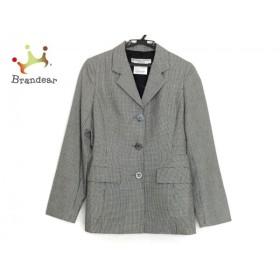 キャサリンハムネット KATHARINEHAMNETT ジャケット サイズM レディース 美品 黒×アイボリー                 スペシャル特価 20190816