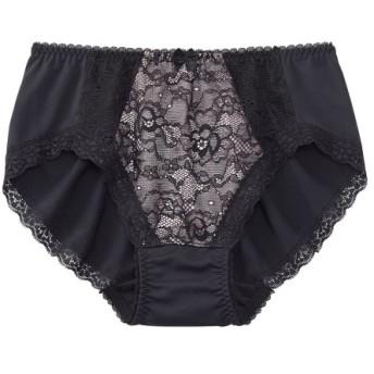 編みレースのやや深めのコーディネートショーツ スタンダードショーツ,Panties