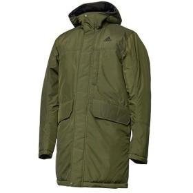 アディダス(adidas) メンズ ウインタージャケット LIGHT INSULATION COAT EYU99 CZ0625 ナイトカーゴ コート ジャケット アウトドア アウター 観戦 サッカー