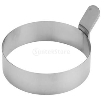 卵 フライヤー ラウンド リング ノンスティック 炊飯器ツール 全2サイズ - #1
