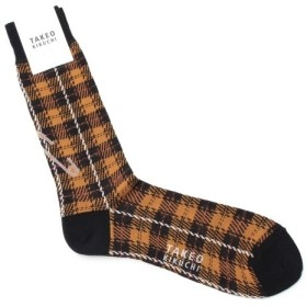 TAKEO KIKUCHI / タケオキクチ タータンチェック ソックス [ メンズ 靴下 ]
