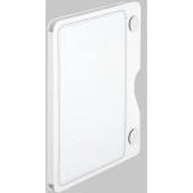 冷蔵庫ピタッとファイル 見開きポケット 白 A4タテ 2921シロ キングジム
