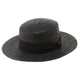 アースミュージックアンドエコロジー earth music&ecology カンカン帽 (Black)