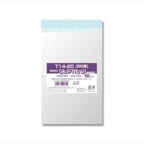 シモジマ:OPP袋 ピュアパック T14-20(B6用) 100枚 006798341