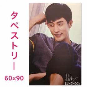 【送料無料】  ソンフン 大型 タペストリー 60×90 韓流 グッズ bb152-1