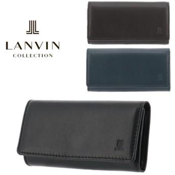 ランバンコレクション キーケース エンボスコンビネーション JLMW7EK1 LANVIN COLLECTION 本革 レザー メンズ [PO5]