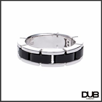 【DUB collection ダブコレクション】ブラックオニキスリング(メンズ) シルバーリング 指輪 CZ