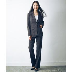 トールサイズ すごく伸びるロング丈ジャケットスーツ(選べる2レングス) 【高身長・長身】オフィススーツ,tall