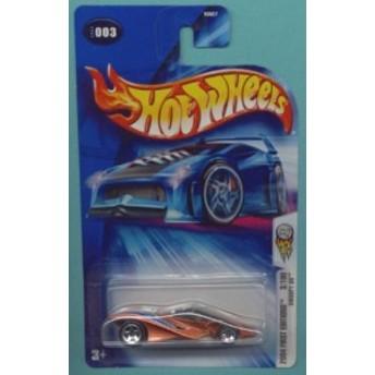 ホットウィールMattel Hot Wheels 2004 First Editions 1:64 Scale Gold Swoopy Do Die Cast Car #003
