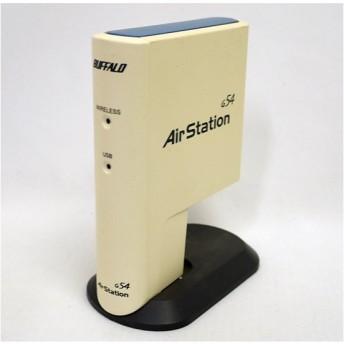 【中古】BUFFALO バッファロー USB2.0 無線LANアダプタ(子機) WLI2-USB2-G54