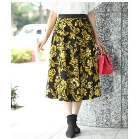 ROPE' / ロペ 【2WAY】フラワー×ドット柄 リバーシブルスカート