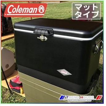 [日本での取扱終了 / 在庫のみ]コールマン スチールベルトクーラー 54qt / マットブラック_3000003098 Coleman クーラーボックス