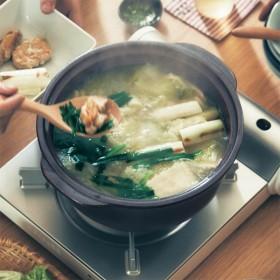 土鍋 ガス火 日本製 有田焼 水なし調理 炊飯 煮込み お手入れ簡単 大 8号サイズ相当 3合